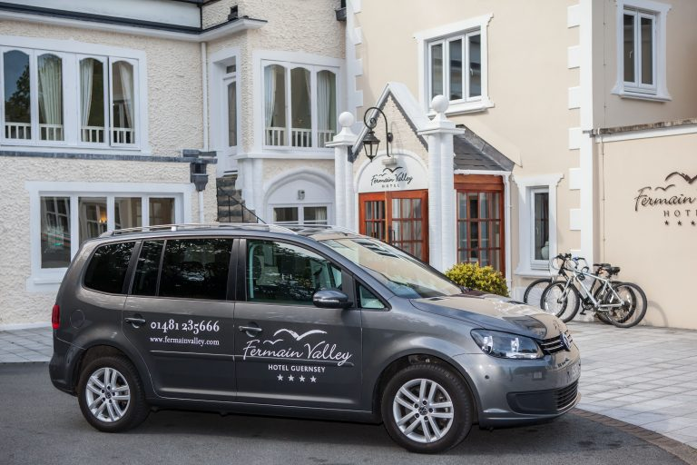 Shuttle Service, Fermain Valley Hotel, Guernsey