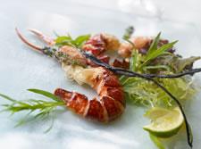 Fresh Local Lobster, Ocean Restaurant, Fermain Valley Hotel, Guernsey