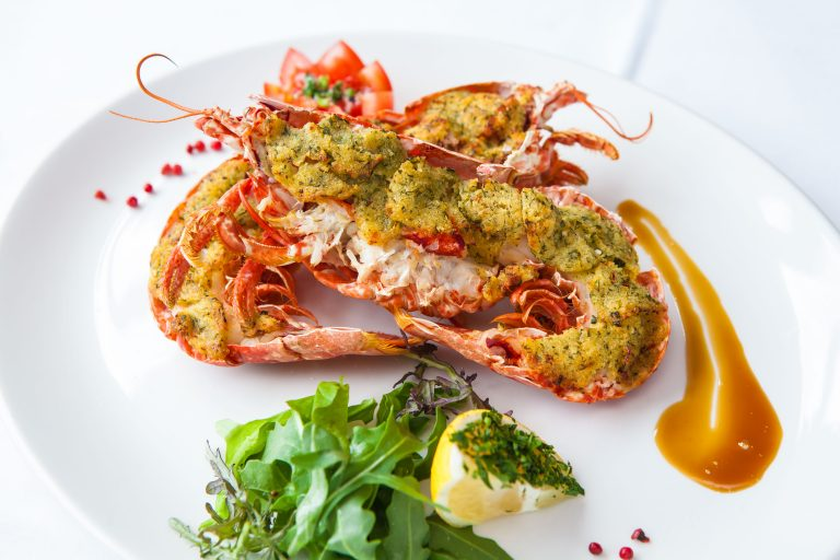 Fresh Lobster, The Ocean Restaurant, Fermain Valley Hotel, Guernsey