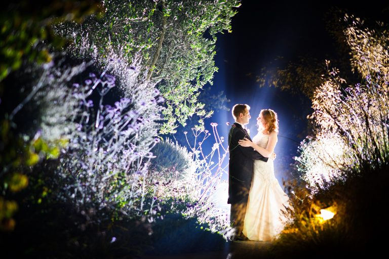 Bride and Groom, Fermain Valley Hotels Garden, Fermain Valley, Guernsey