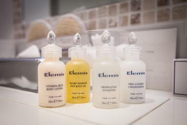 Elemis Products, Fermain Valley Hotel, Guernsey