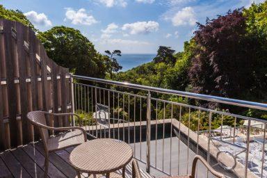 Hotel Room Balcony, Fermain Valley Hotel, Guernsey