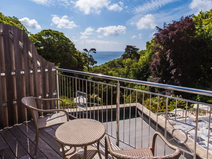 Hotel Room Balcony, Fermain Valley Hotel, Guernsey