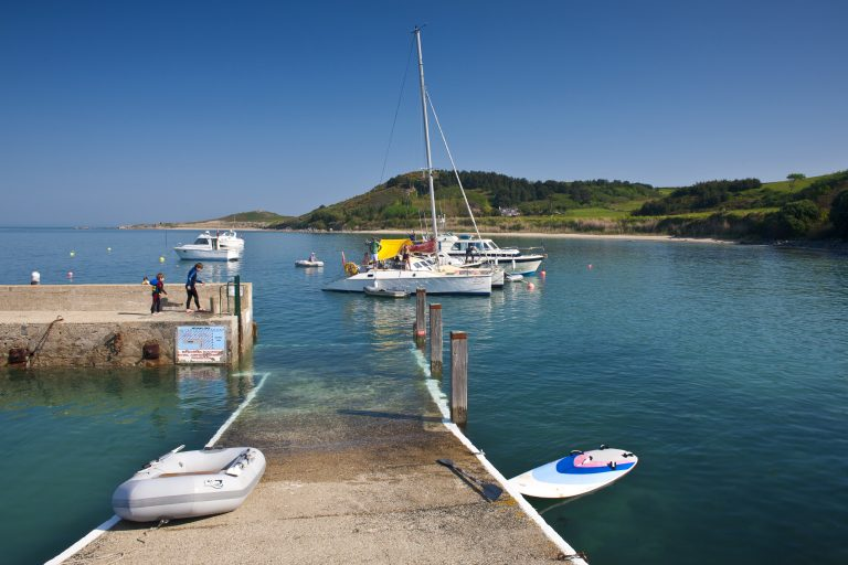 Herm Harbour, Bailiwick Of Guernsey, Channel Islands