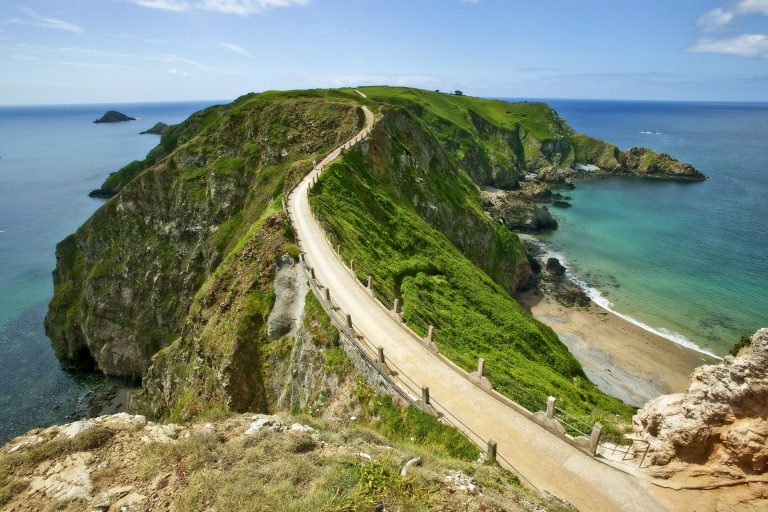 Little Sark, Sark, Bailiwick Of Guernsey, Channel Islands