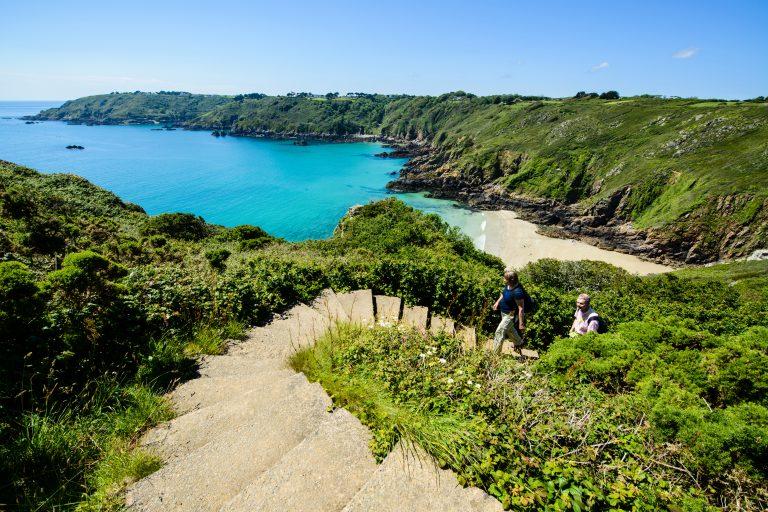 Cliff Paths, Fermain Valley, Guernsey, Channel Islands
