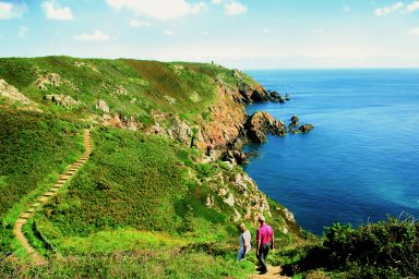 Cliff Path, Guernsey, Channel Islands