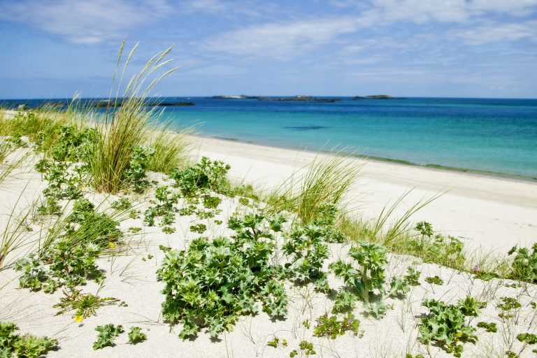 Shell Beach, Herm, Bailiwick Of Guernsey, Channel Islands