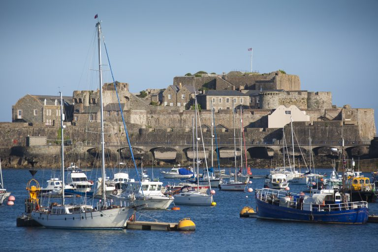Castel Cornet, St Peter Port, Guernsey, Channel Islands