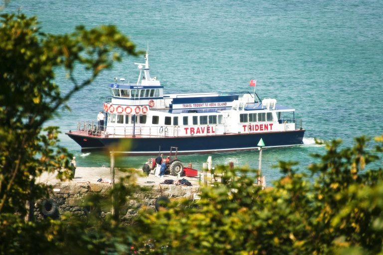 Travel Trident, Travel Guernsey To Herm, Channel Islands
