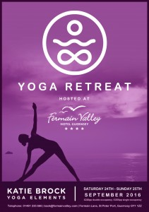 Fermain Yoga retreat flyer september