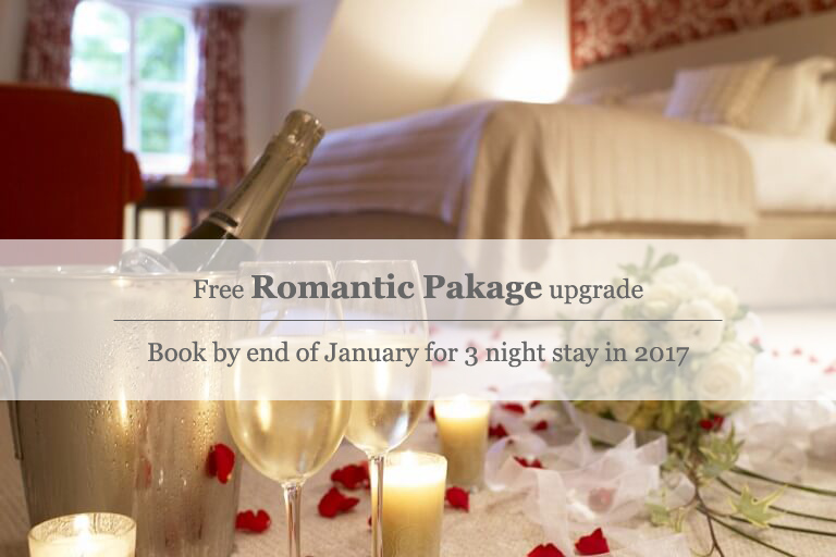 Free Romantic Package upgrade